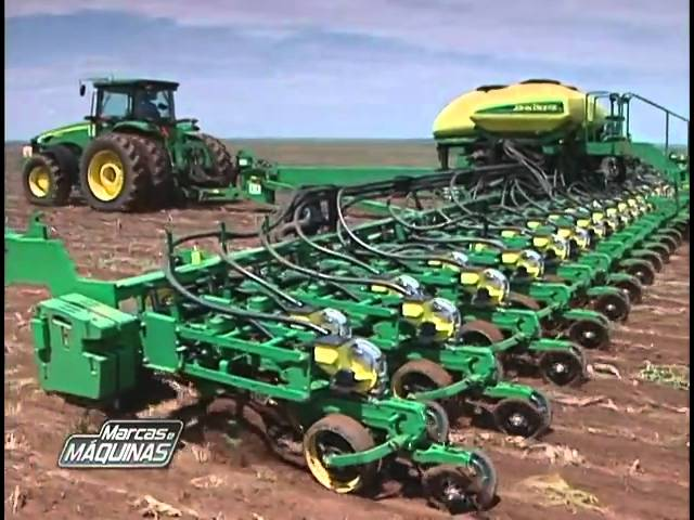 Reportagem: plantadeira DB da John Deere Travel Video