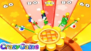 Mario Party 10 - Soar to Score w/ other Minigames Gameplay