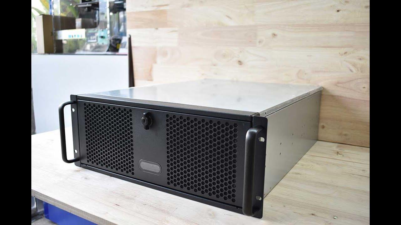 PCG DIY - Unbox Case 4U Tango TCG-4550MG2 เคสเอนกประสงค์สำหรับ 4 GPU Server