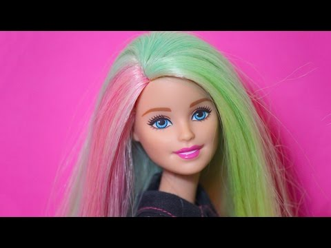 Barbie Mix 'N Color Doll Review!