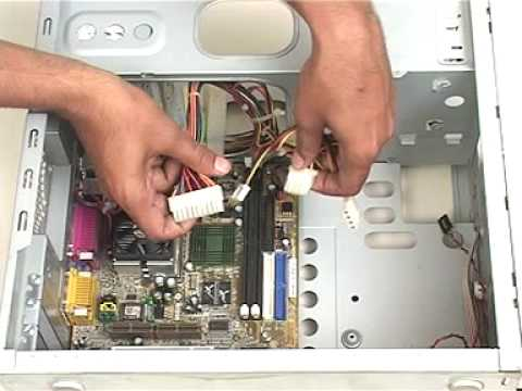 learn how to assemble motherboard youtube rh youtube com computer motherboard wiring diagram intel motherboard wiring diagram
