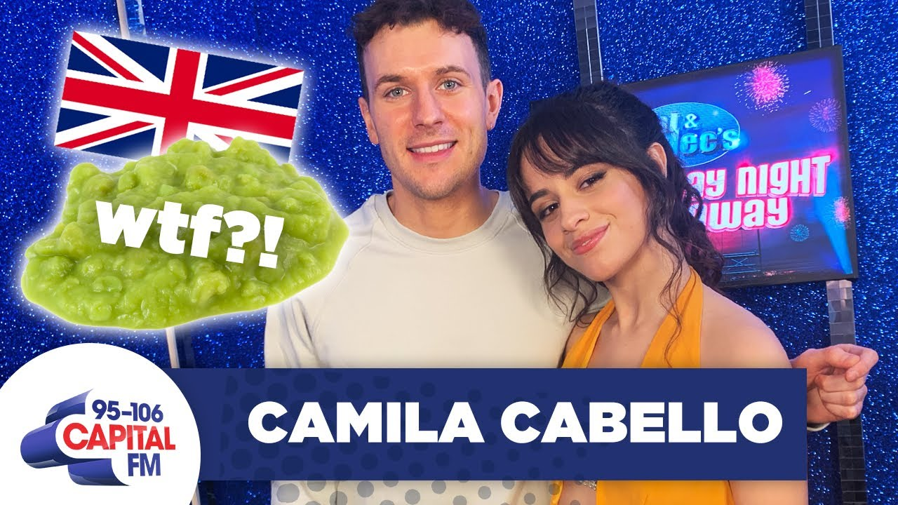 Camila Cabello Has Gone FULL British Filming 'Cinderella'