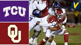TCU vs #9 Oklahoma Highlights | Week 13 | College Football 2019