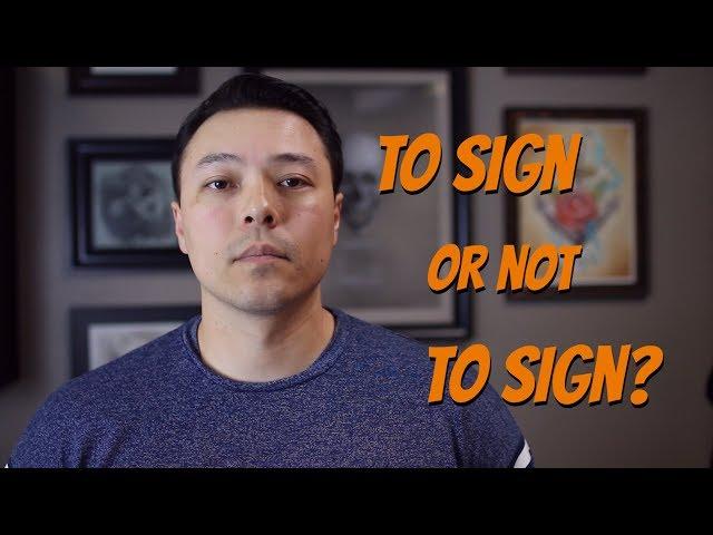Why Tattoo Artists Don't Sign Tattoo Work