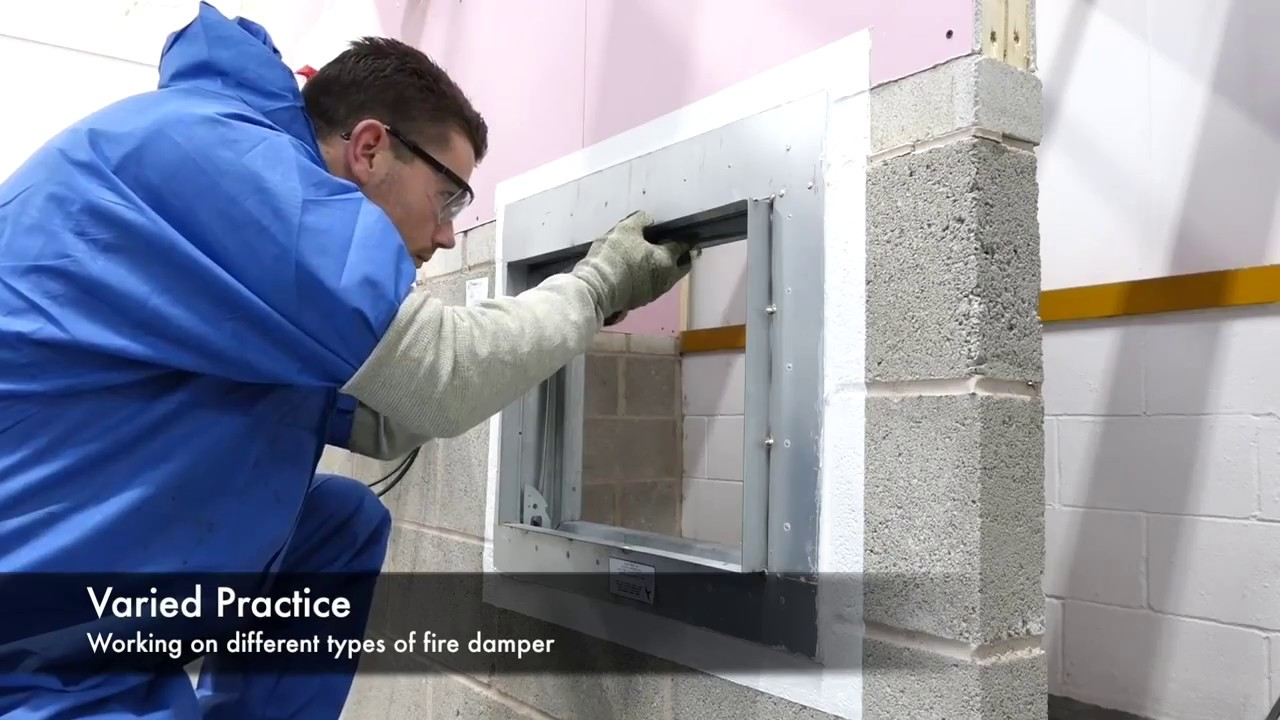 Fire Damper Testing Competency Courses Youtube