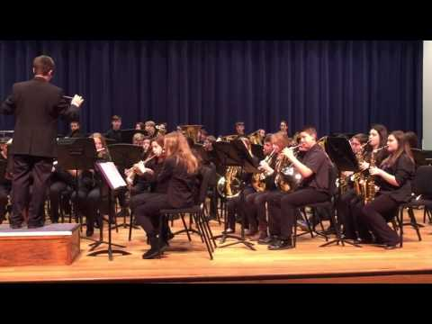 Campbell County middle school band