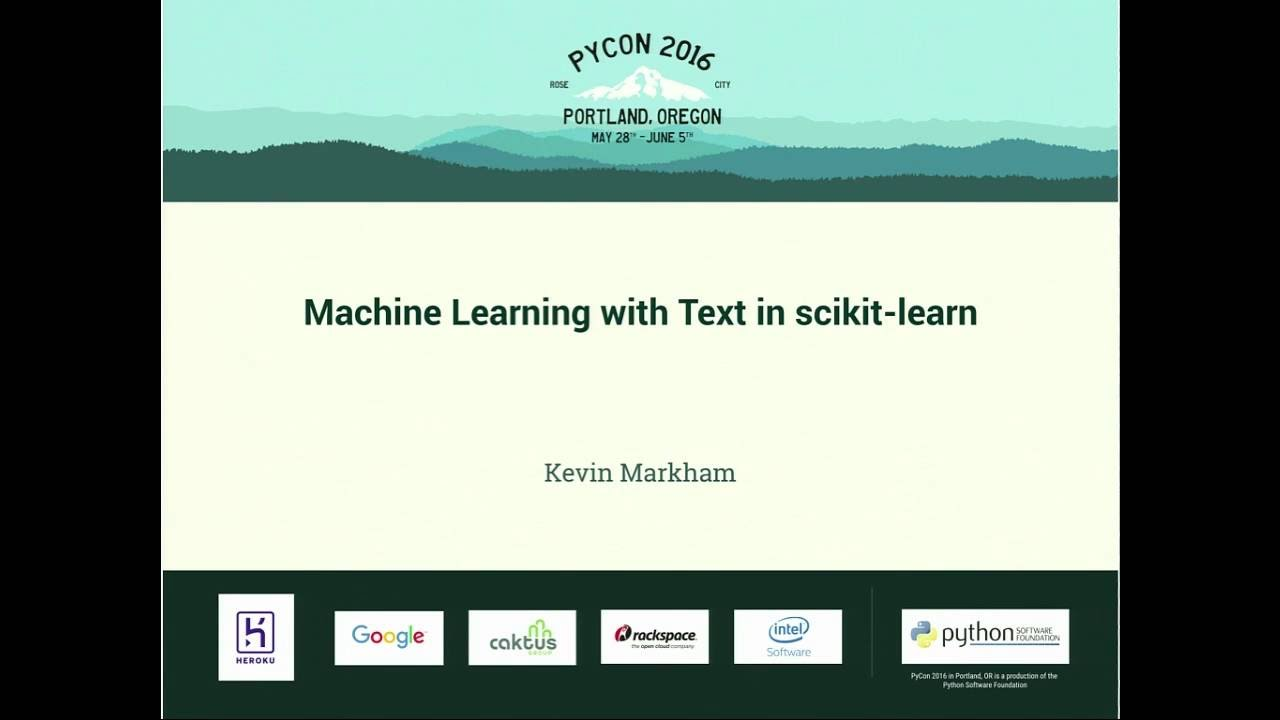 Image from Machine Learning with Text in scikit-learn