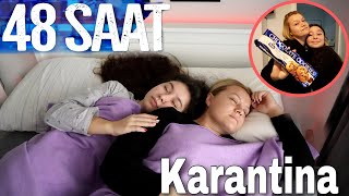 48 SAATLİK KARANTİNA VLOG   PART1