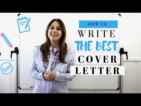 How to Write the Best Cover Letter
