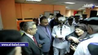 بالفيديو والصور..  مدير حقوق الإنسان بوزارة الداخلية يتفقد مبنى الأحوال المدنية بالعباسية