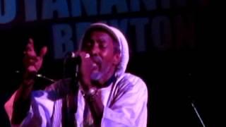 Ijahman Levi-Are We A Warrior Live@Hootananny, Brixton 2012-02-26