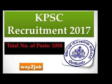 KSPC Recruitment FDA 507 SEATS / SDA 551 SEATS