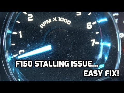2017 F150 Stalling Issue W P2196 P2198 Codes Easy Fix