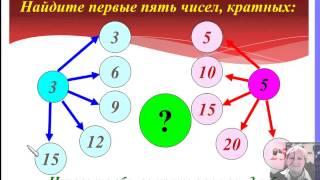 Делители и кратные 6 класс Урок 1