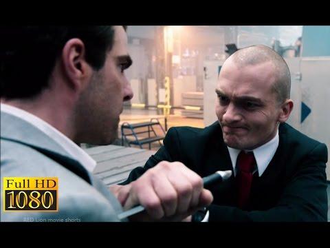 Hitman Agent 47 (2015) - Agent 47 Vs John Smith   Factory Fight Scene (1080p) FULL HD