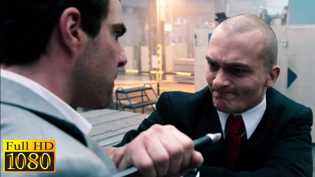 Download Hitman Agent 47 (2015) - Agent 47 Vs John Smith   Factory Fight Scene (1080p) FULL HD