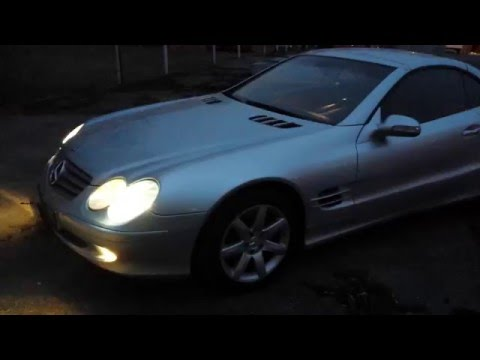 Обзор Mercedes Benz SL 500
