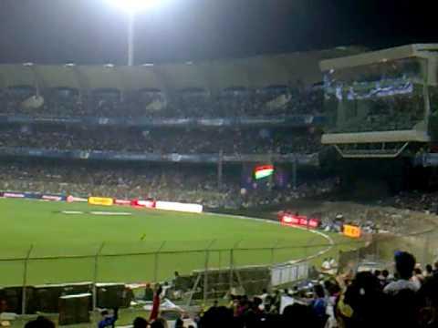 Mexican Wave at DY Patil Cricket Stadium, Navi Mumbai ...