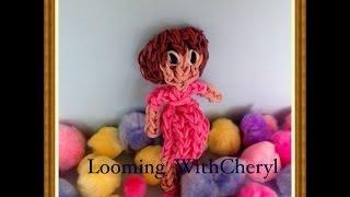 Rainbow Loom Pregnant Lady - Gomitas - Looming WithCheryl