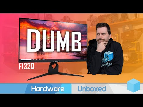 Most Pointless Monitor of 2021: Gigabyte Aorus FI32Q Review