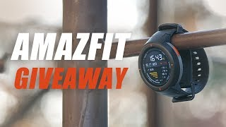 GIVEAWAY!!! AMAZFIT Smartwatch Review