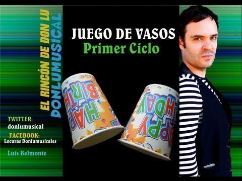 JUEGO DE VASOS 1º Educación Musical DONLUMUSICAL