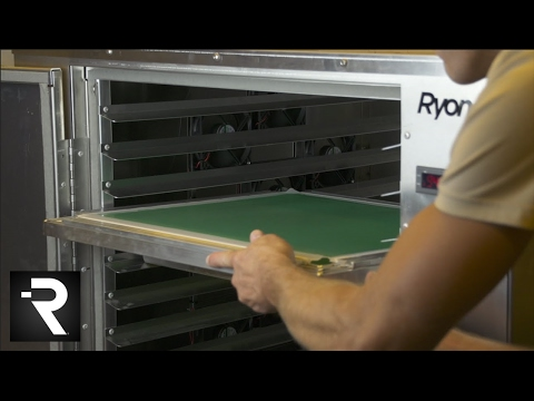 The Screen Room Drying Cabinet for Screen Printing Dark Rooms ...