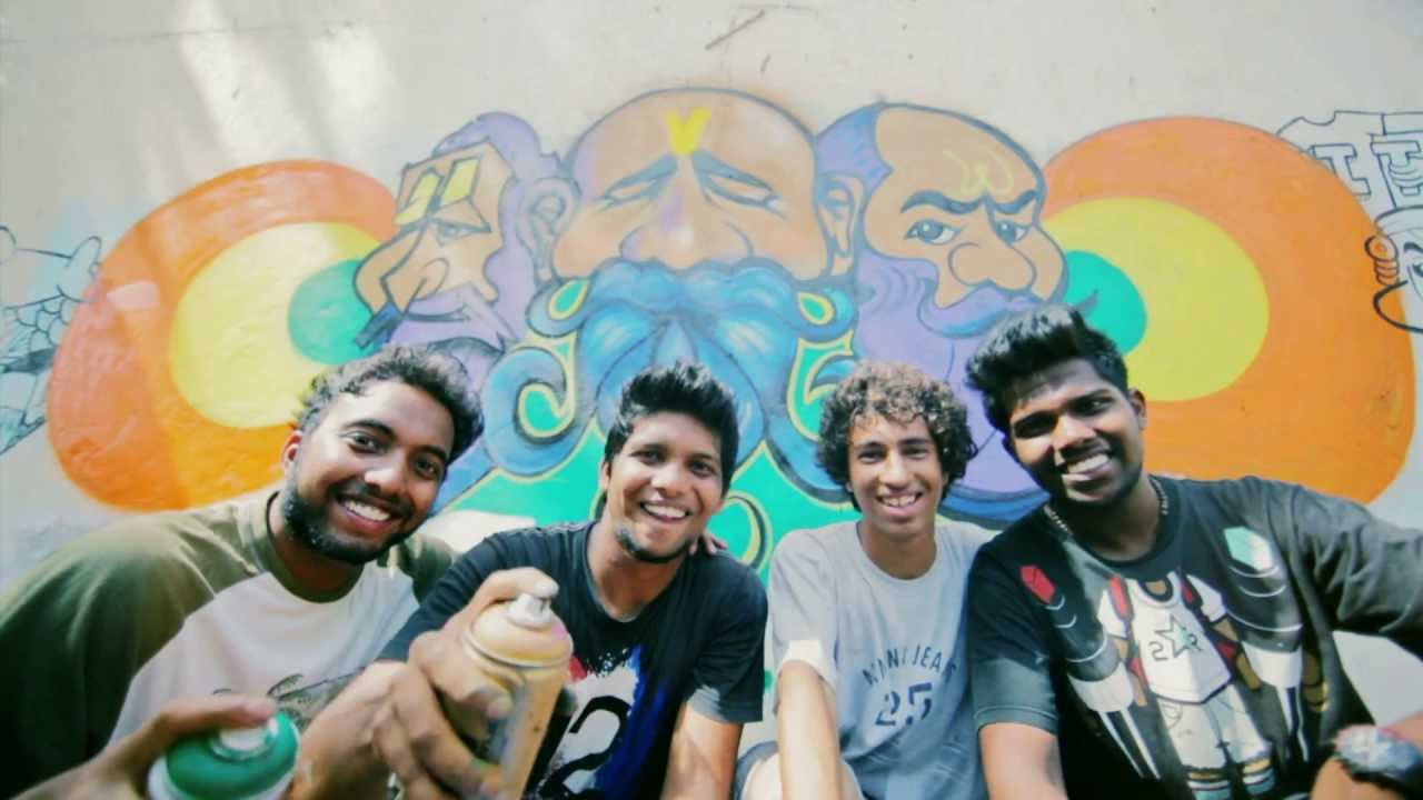 Wall Art In The Quest For Indian Graffiti Youtube