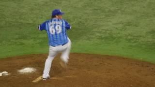 横浜DeNAベイスターズ マイク・ザガースキー 投球フォーム(スローモーション)