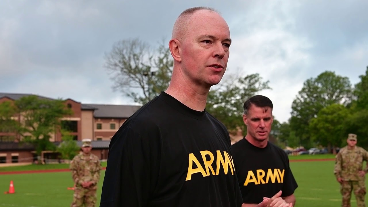 Demonstration of the new Army Combat Fitness Test