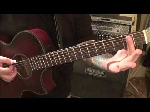 JON PARDI - ALL TIME HIGH - CVT Guitar Lesson by Mike Gross