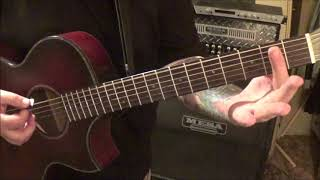 Jon Pardi ALL TIME HIGH - CVT Guitar Lesson by Mike Gross.mp3