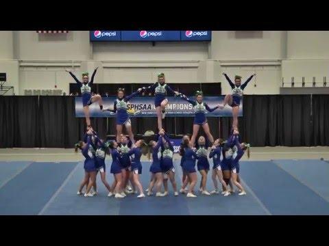 Cicero North Syracuse Cheerleading Second Performance States 2016