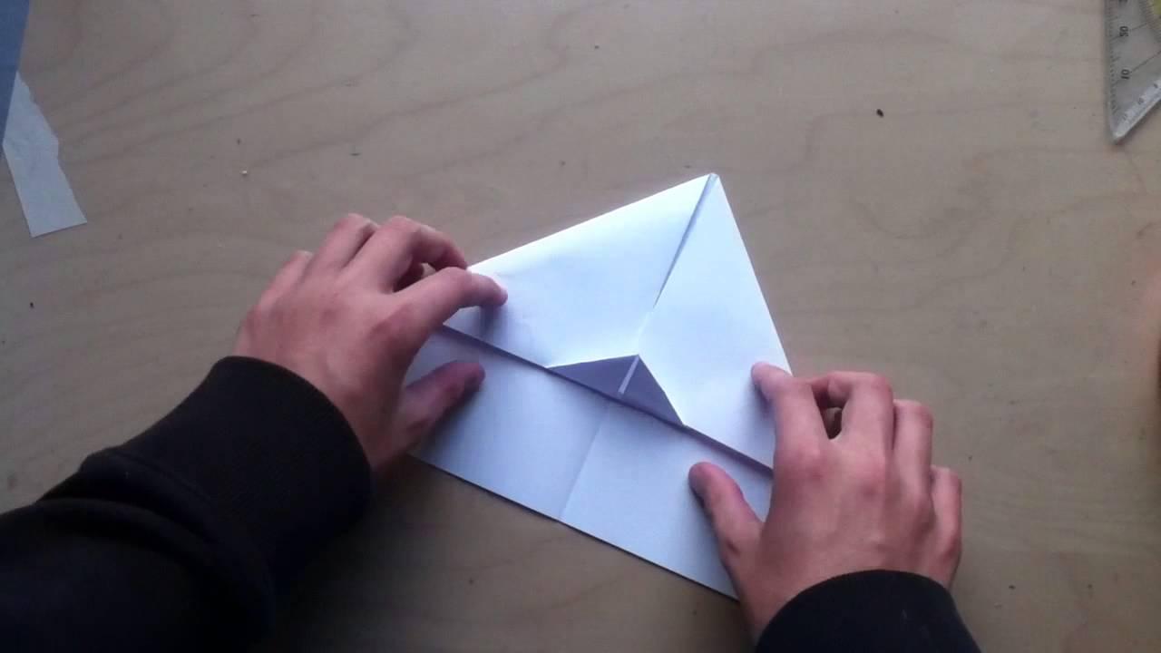 papierflieger selbst basteln flugzeuge aus papier falten youtube. Black Bedroom Furniture Sets. Home Design Ideas