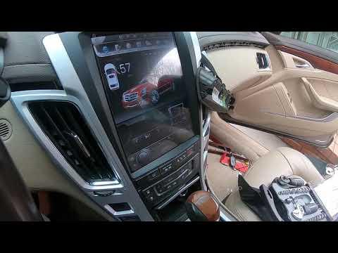 Install backup camera for Cadillac CTS