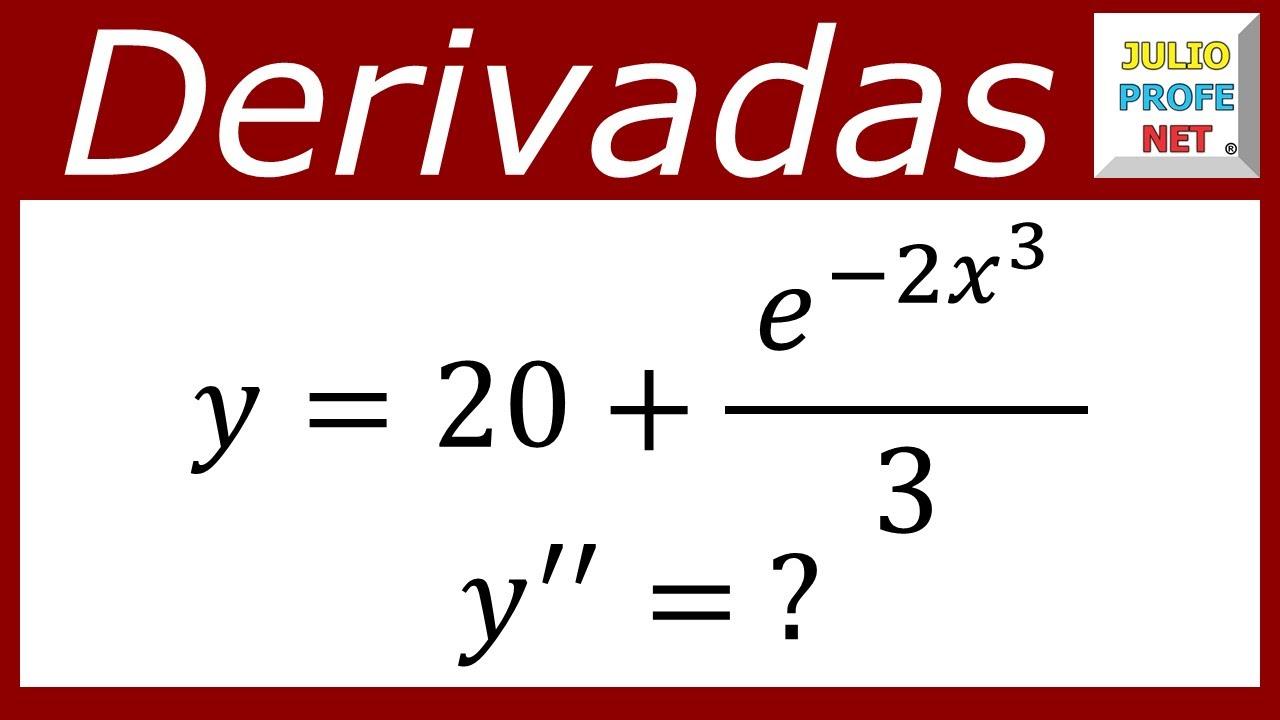 Download DERIVADAS DE ORDEN SUPERIOR - Ejercicio 1