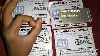 04/05/2019 http://live4d.sg - Singapore  4D result live broadcast wed,sat,sun at6:33pm call Free