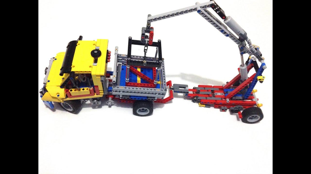 Lego Vintage Farm Truck 42024 Alternate Model Youtube