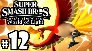 Super Smash Bros Ultimate - World of Light PART 12 - Castle Dungeon - Switch Gameplay Walkthrough