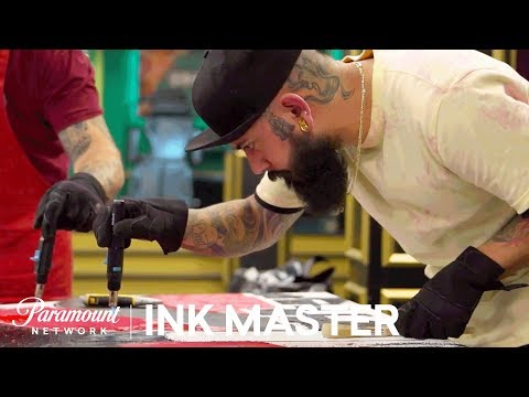 Wax On, Wax Off: Testing Composition - Flash Challenge | Ink Master: Return of the Masters