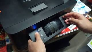 How to put Epson WF-3720 printer in Program Update Mode