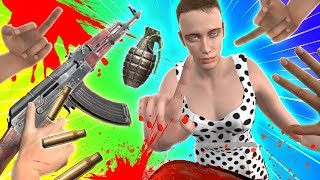 Actual Funny Moments in Hand Simulator!