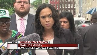 Marilyn Mosby speaks out on Freddie Gray case decision