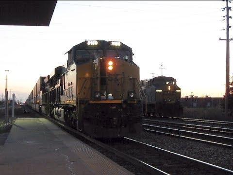 Trains In And Around Buffalo, NY 04/14/2017