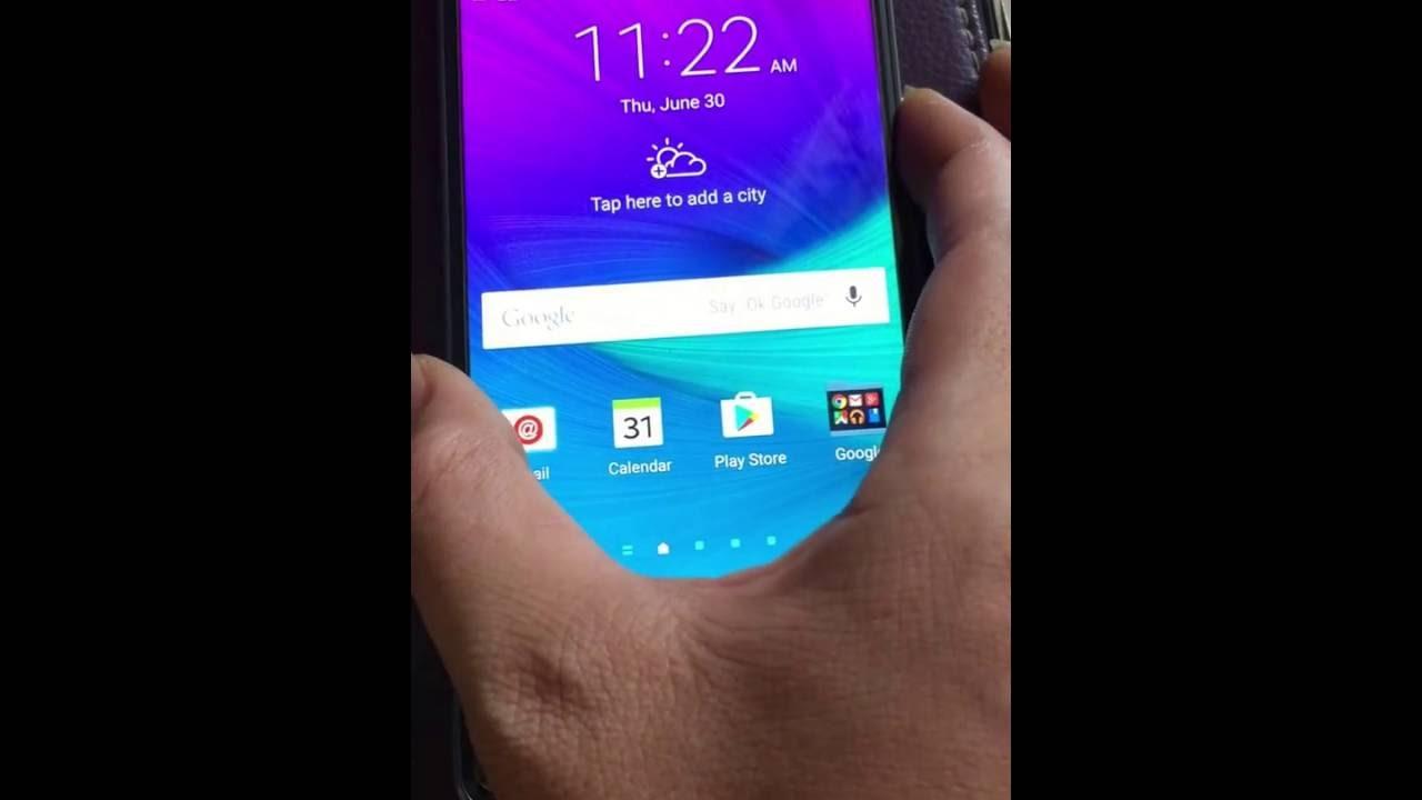 Remove Samsung Account Note 4 N910A N910T N910W8 N910F N910C