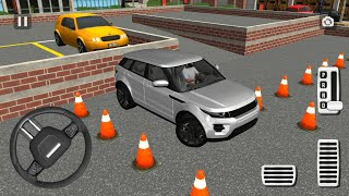 Direksiyonlu Range Rover Park Etme Oyunu||Master of Parking: SUV (GREY) Android Gameplay