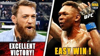 Conor McGregor PRAISES Israel Adesanya after HUGE KO win, Paulo Costa responds to Adesanya's callout