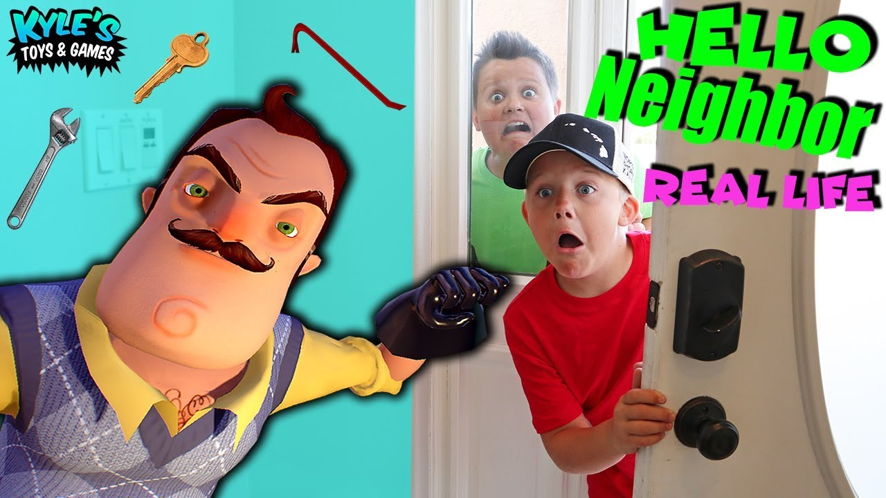 Hello Neighbor Real Life In Our House Youtube