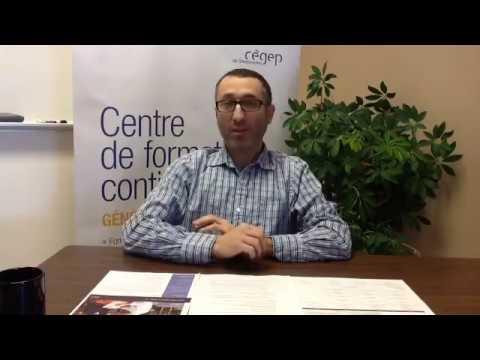 Rencontrez un expert de contenu du programme Gestion industrielle du Cégep de Sherbrooke