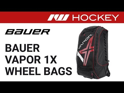 Bauer Vapor 1X Locker Wheel Bag Review